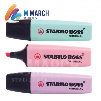 STABILO Highlighter Boss Original Pastel