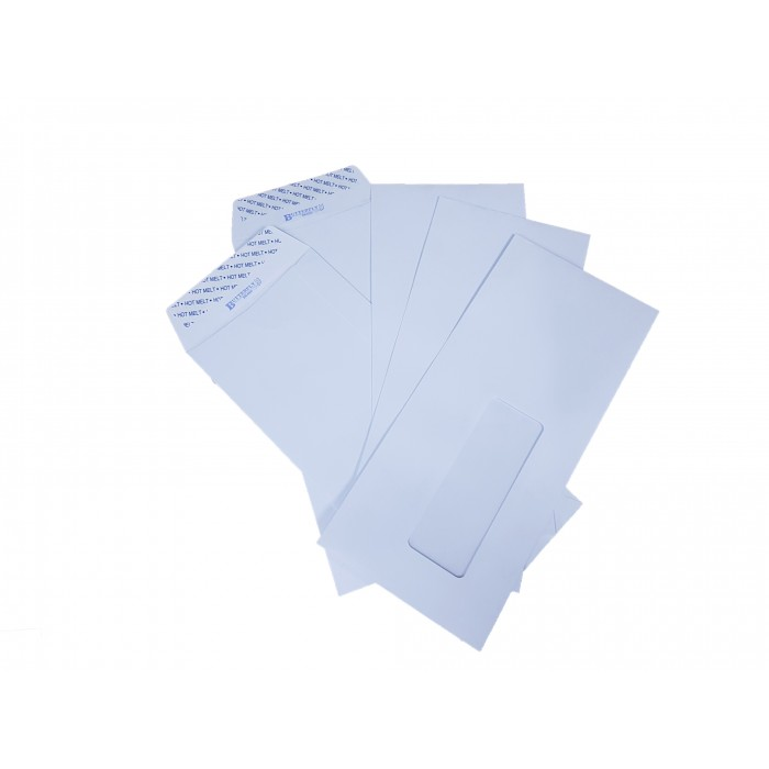 butterfly brand envelope window 4 x 9 500 s white
